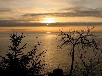 Lutsen house rental - beautiful sunrise