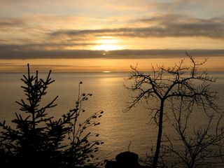 Lutsen house photo - beautiful sunrise