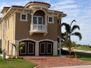 Port St. Lucie house photo - Front View. second floor balcony belongs to fourth Bedroom