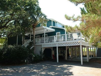 Private Deep Water Home on the Folly River.  2 Easy Blocks from Beach Access.