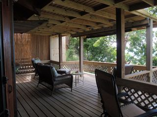 Culebra cottage photo - Balcony / Deck facing the ocean