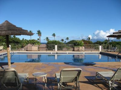 Kaanapali condo rental - One of Three Sparkling Pools