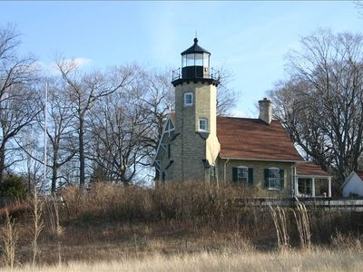 White Lake Light Station and Museum, 1875