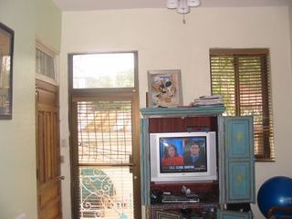 Santo Domingo hotel photo - TV room with Terrace and open view of Old Town