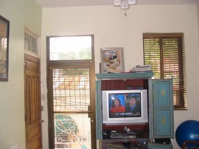 TV room with Terrace and open view of Old Town