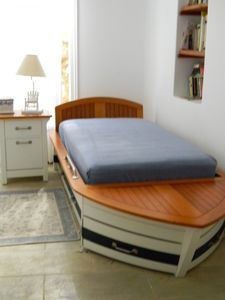 Kids Bed Room 'Marine' with Trundle to sleep two