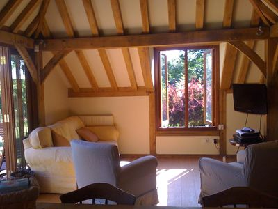 Heathfield cottage rental - Additional seating area