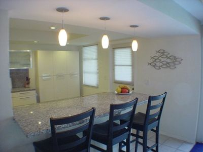 Sanibel Island house rental - Bar area