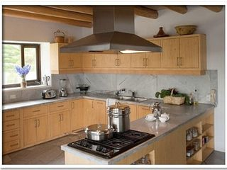 Lago San Pablo villa photo - Gourmet kitchen with modern oven, microwave, all utensils, cook on demand