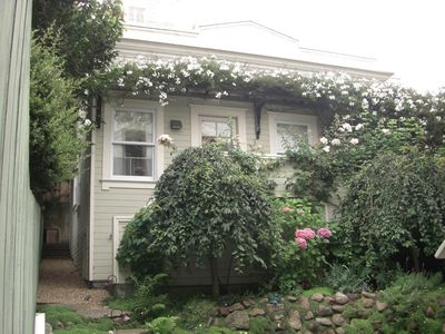 San Francisco cottage rental - Vine-covered Cottage