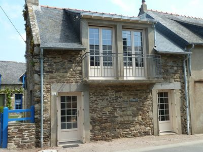 Fisherman's house in Cancale (Brittany, Ille-et-Vilaine) renovated in 2011
