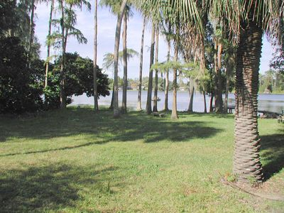 Tampa cabin rental - We wake up to this sunny view almost every morning!