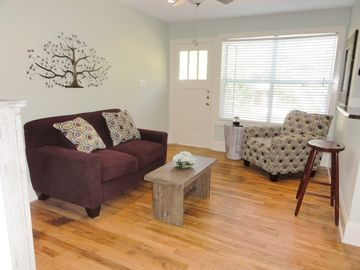 All New!! with quality vintage eclectic charm, Private Setting, Wood Floors!!