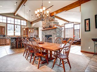 Baldy Mountain Breckenridge house photo - Dining Area That Seats 8 Comfortably
