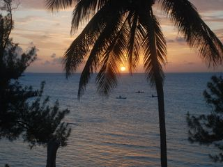 Grand Cayman condo photo - Sunset from #33 Lanai