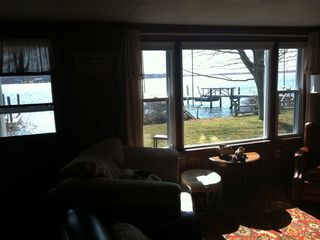 From the Living Room Overlooking the Water facing Southeast