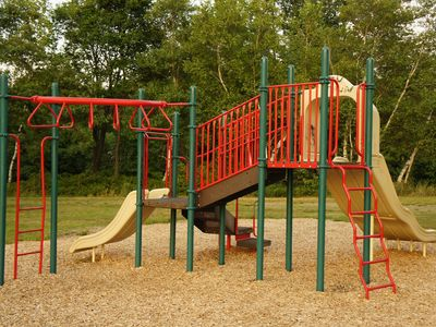 One of the community play areas.