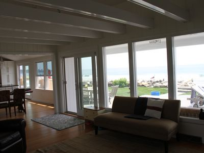 Rye cottage rental - Sweeping Views from LR, DR & Kitchen...