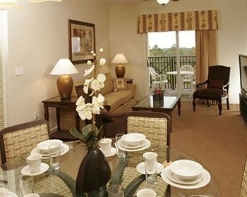 Dining Area, Living Room, and Balcony with great view of Disney Fireworks