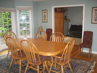 Hyannis - Hyannisport house photo - Dining Room w view into Family Room