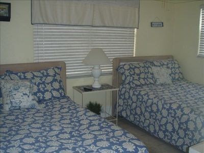 Bedroom 2 - Two double beds