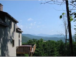 Hot tub view to the northeast - Bartlett house vacation rental photo
