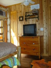 Crystal Mountain, Thompsonville cottage photo - Enjoy another TV in the second bedroom