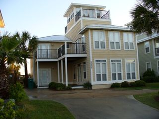 "Crystal Beach house photo - ""Seawatch"" Directly across the street from the Gulf & Beach access"