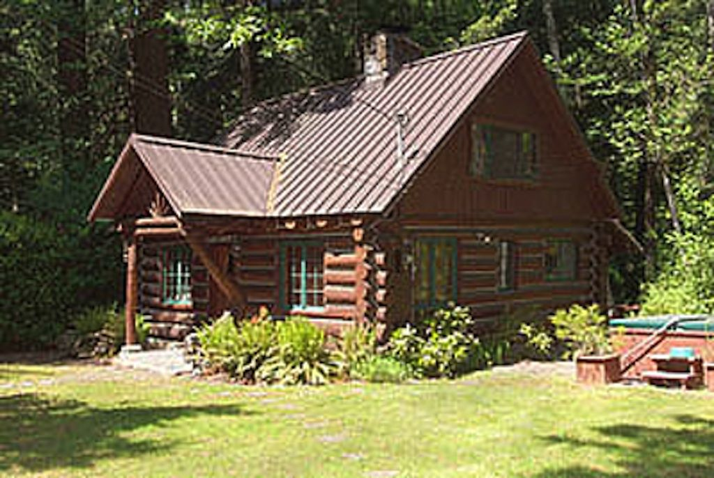 Romantic steiner log cabin at mt hood vrbo Log cabin for two