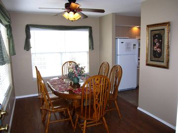 Dine with family in friends in this condo with all the comforts from home