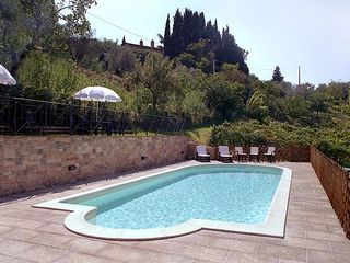 Perugia apartment photo - The Charming swimming pool with salt water