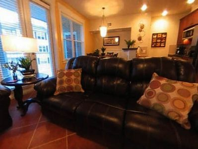 Galveston villa rental - 5 Leather Recliners :-)
