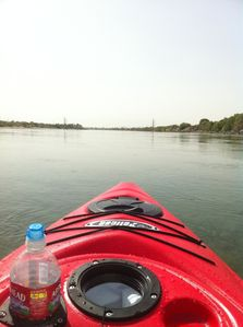Morning Kayaking, canoeing or boating allows for a feeling of peaceful serenity.