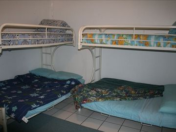 Bunk Room with Day drapes for that sleep in morning.