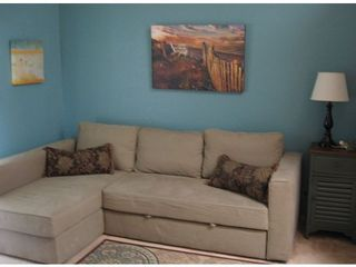 Oak Harbor condo photo - The living area is newly furnished and thoughtfuly appointed