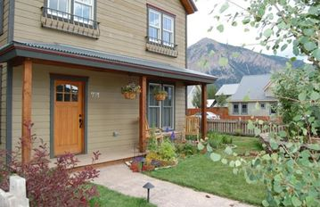 Crested Butte townhome rental - Exterior. Brand new property with great views!