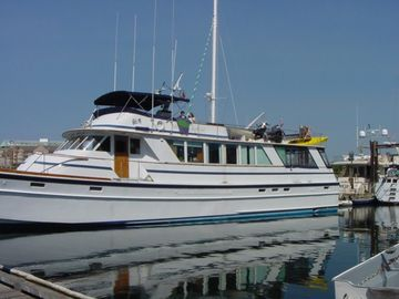 "Redwood City yacht rental - ""Morning Mist"" 85' Motor Yacht"
