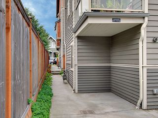 Seattle townhome photo - This is the designated parking space for Audrey's Landing and walkway to front.