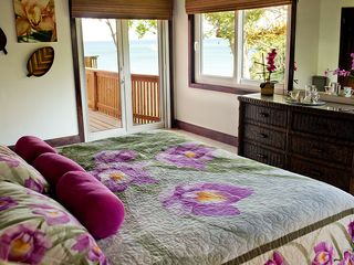 Roatan house photo - View of the sea from the master bedroom - what a way to wake up!