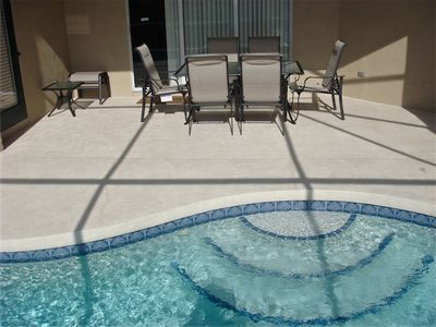 Bradenton villa rental - Lanai and Pool