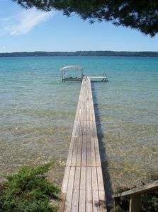 Torch Lake house rental - Shore