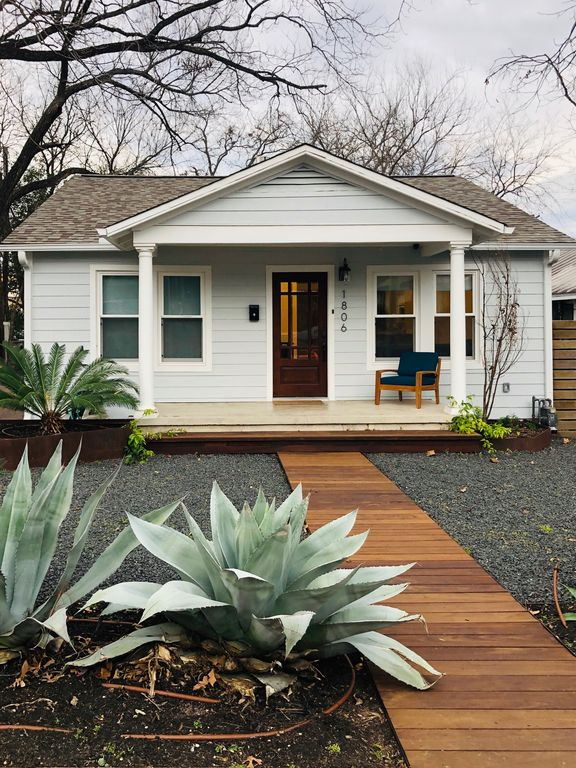 SOCO bungalow one block off of S. Congress Avenue (renovated 2019).