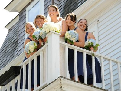 Special Events - Wedding Party from Balcony