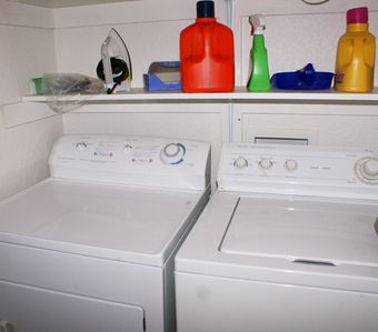 Large washer & dryer