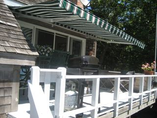 Round Pond apartment photo - Retractable Awning over deck