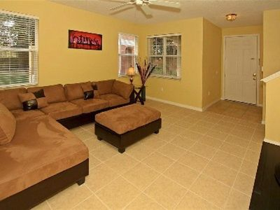 Paradise Cay townhome rental - Living Room