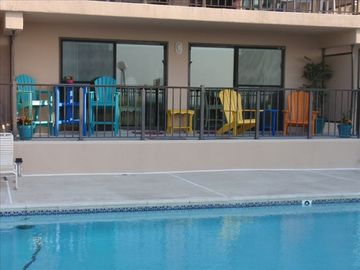 Seaside Escape Ocean City condo rental - Diamond Head - Oceanfront & Pool Front