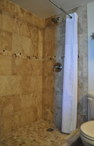 Master walk-in shower - new in 2013