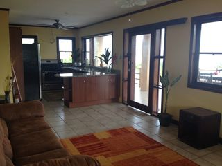 Puntarenas City estate photo - Living Room and New Gourmet Kitchen