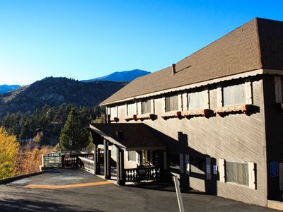 June Lake condo rental - Exterior of Resort at The Heidelberg Inn
